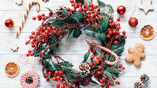 "Christmas Wreaths, or ""Yule Never Believe what Happened Next"""