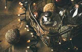 Antique or vintage Christmas ornaments are popular holiday decorations even today.