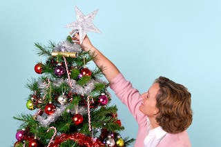 The signature decoration adorning any Christmas tree, the star.
