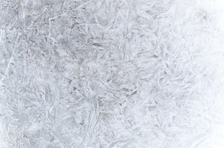 Icy Crystal Frost Pattern