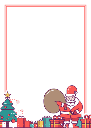 Santa Claus and Presents