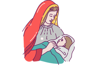 Mary with Baby Jesus