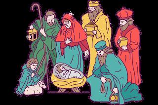 Nativity Scene (Birth of Jesus)