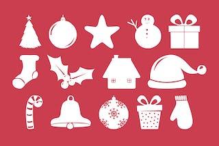 Christmas Shapes.Christmas Shapes Font Free Christmas Hq