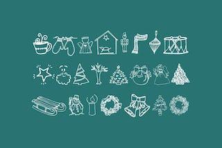 Janda Christmas Doodles