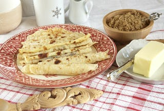 Made from potatoes, Lefse will impress just about everyone on your guestlist.