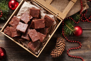 Chocolate fudge is a great addition to any Christmas candy repertoire.