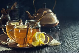One of the most popular Christmas drinks, hot toddies are great for taking the chill off.