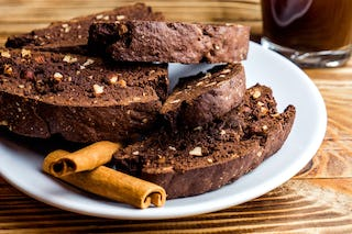 Chocolate biscotti, plus a nice espresso, can make a Christmas evening even better.