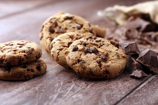 Big, chunky, chocolate chip cookies are the backbone of any baker