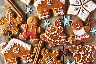Gingerbread cookies are a staple of the holiday season.