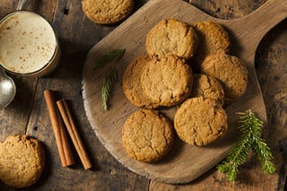 Ginger is definitely a holiday theme; bake these to spice up your holiday dessert plate.