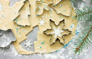 Another classic of the holidays, sugar cookies come in all shapes, sizes and iced varieties.