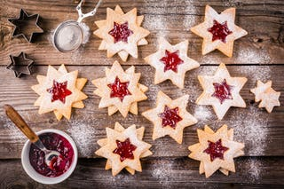 Christmas cookies are staple of holiday baking, and can easily double as a quick dessert.