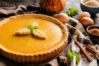 Pumpkin pie isn