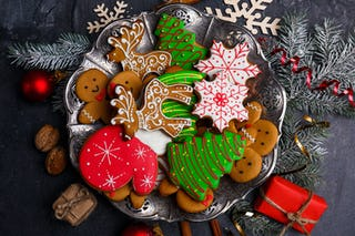 You can never have enough Christmas cookies on hand.